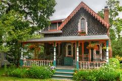 Free Gingerbread Houses - Martha`s Vineyard Stock Photo - 200139460