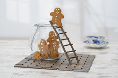 Gingerbread Ladder Royalty Free Stock Photography