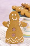 Gingerbread Lady Stock Photo