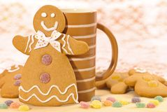 Gingerbread Lady Royalty Free Stock Image