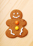Gingerbread Man. On the table Stock Photography