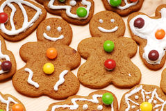 Gingerbread Man. On the table Royalty Free Stock Photo