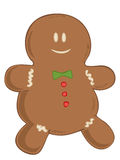 Gingerbread man. Royalty Free Stock Photos