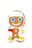 Gingerbread man Royalty Free Stock Image