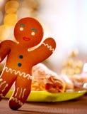 Gingerbread Man. Christmas Holiday Food Royalty Free Stock Photo