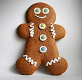Gingerbread man. Gingerbread, a typical xmas pastry in germany royalty free stock photography