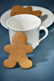 Gingerbread man biscuit Royalty Free Stock Photography