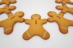 Gingerbread man. Royalty Free Stock Photography