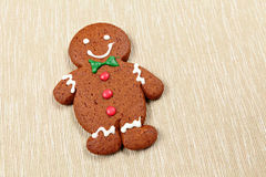 Gingerbread man for christmas Royalty Free Stock Photo