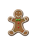 Gingerbread Man Christmas Cookie Royalty Free Stock Image