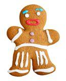 Gingerbread man, christmas cookie. Royalty Free Stock Photos
