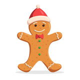 Gingerbread man Christmas Royalty Free Stock Photography