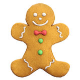 Gingerbread Man Christmas Icon Royalty Free Stock Photos