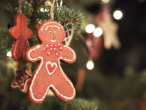 Gingerbread man Christmas Market royalty free stock photography