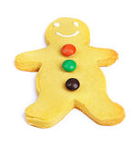 Gingerbread man cookie Stock Photography
