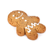 Gingerbread man cookie Royalty Free Stock Photos