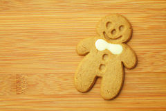 Gingerbread man cookie Royalty Free Stock Photo