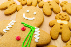 Gingerbread man cookie Royalty Free Stock Photography