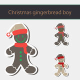 Gingerbread Man Cookie. Royalty Free Stock Photography