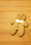 Gingerbread Man cookie for xmas Stock Image