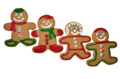 Gingerbread Man Cookies Royalty Free Stock Photos