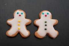 Gingerbread Man Cookies Royalty Free Stock Photos