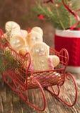 Gingerbread man cookies Stock Image