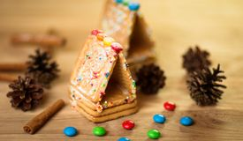 Gingerbread man, cookies Royalty Free Stock Photos