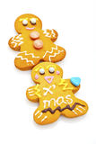 Gingerbread man and cookies Stock Photo
