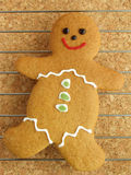 Gingerbread man cooling Royalty Free Stock Image