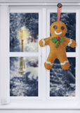 Gingerbread Man Decoration Royalty Free Stock Photos