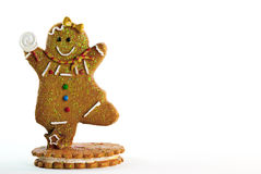 Gingerbread Man Frame Stock Image