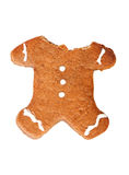 Gingerbread man without head Royalty Free Stock Photo