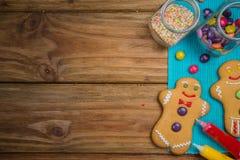 Gingerbread man Stock Photos