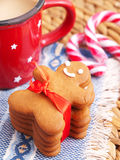 Gingerbread man Royalty Free Stock Image