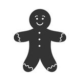 Gingerbread man. Icon. Vector illustration vector illustration