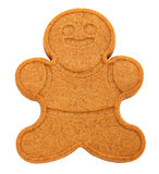 Gingerbread Man Isolated Stock Image