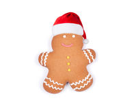 Gingerbread man isolated Stock Images