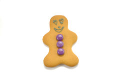 Gingerbread man in love Stock Photo