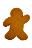 Gingerbread Man ready to ice Stock Photos