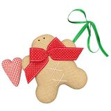 Gingerbread Man. Tilda Gingerbread Man decorations. This is a wonderful decoration for Christmas. As well as unforgettable gifts vector illustration