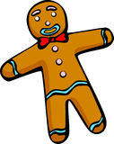 Gingerbread man vector illustration. Vector illustration of a gingerbread man royalty free illustration