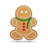 Gingerbread Man Vector Illustration Royalty Free Stock Image
