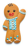 Gingerbread man Stock Images