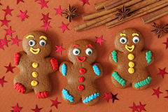 Gingerbread me Royalty Free Stock Photography