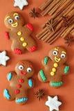 Gingerbread men Stock Photo