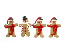 Free Gingerbread Men Royalty Free Stock Photography - 16899077
