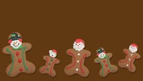 Free Gingerbread Men Stock Image - 16969661
