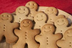 Free Gingerbread Men Stock Image - 19449331