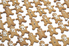 Gingerbread men Stock Photo